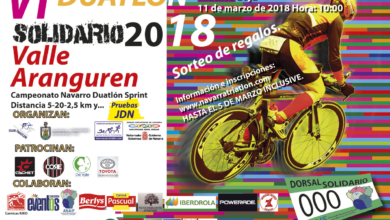 Photo of [FINALIZADO]: Inscripciones abiertas VI Duatlón Valle de Aranguren