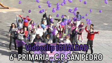 Photo of [VIDEO] Videoclip Igualdad – 6Primaria CP San Pedro